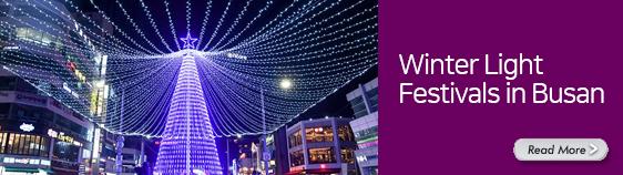 Winter Light Festivals in Busan (includes festival photos)