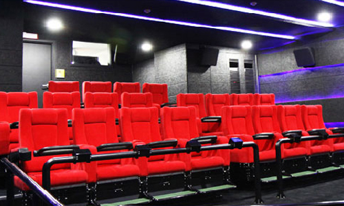 4-D film theater