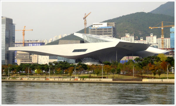 Main venue of BIFF, View of Busan Cinema Center photo